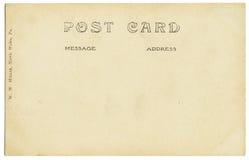 De oude Rug van de Prentbriefkaar Royalty-vrije Stock Foto's