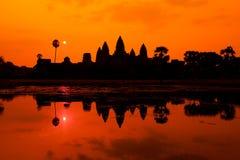 De oude ruïnes van een historische Khmer tempel in de tempel compl Royalty-vrije Stock Foto's