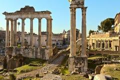De oude Ruïnes van Rome Royalty-vrije Stock Afbeelding