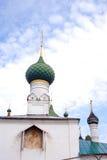 De oude Russische orthodoxe kerkbouw Royalty-vrije Stock Foto