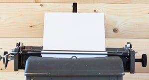 De oude schrijfmachine Stock Foto's