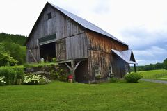 De oude Schuur van het Land Stock Fotografie