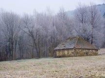 De oude Schuur van het Landbouwbedrijf Stock Fotografie