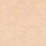 De oude sepia achtergrond van het millimeterpapier vierkante net Stock Foto's