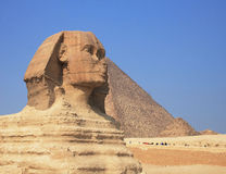 De oude Sfinx Royalty-vrije Stock Afbeelding