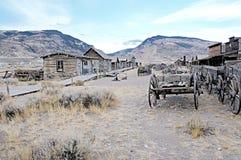 Spookstad, Cody, Wyoming, Verenigde Staten Stock Foto