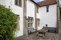 De oude Somerset-bouw Stock Afbeelding