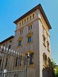 De oude Spaanse bouw Vic Royalty-vrije Stock Foto