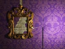 De oude spiegel Stock Fotografie