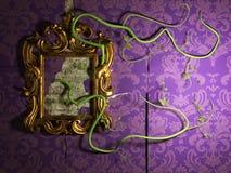 De oude spiegel Royalty-vrije Stock Afbeelding