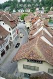 De oude stad bekijkt 57 stock afbeelding