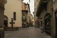 De Oude Stad in Bergamo, Itali? royalty-vrije stock fotografie