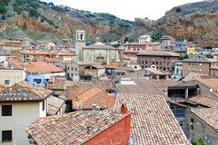 De oude stad Daroca spanje Stock Fotografie