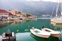 De oude stad Kotor van Europa Stock Afbeeldingen
