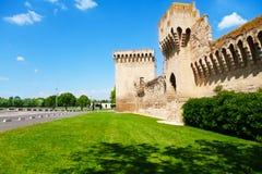 De oude stad van Avignon royalty-vrije stock fotografie