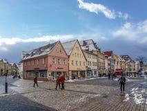 De oude stad van Bayreuth Stock Afbeelding