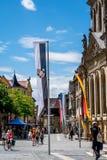 De oude stad van Bayreuth Stock Afbeeldingen