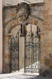 De oude stad van Bayreuth - Portaal Stock Afbeeldingen