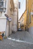 De Oude stad van Bergamo Stock Foto