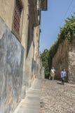 De Oude stad van Bergamo Royalty-vrije Stock Afbeelding