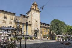 De Oude stad van Bergamo Royalty-vrije Stock Foto