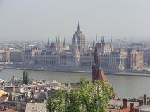 De oude stad van Boedapest Royalty-vrije Stock Foto's