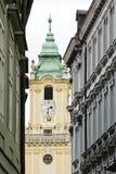 De oude stad van Bratislava Stock Foto