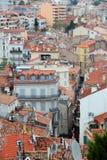 De oude stad van Cannes Stock Fotografie