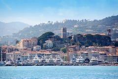 De oude stad van Cannes Stock Foto's