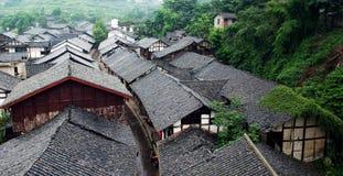De oude stad van China royalty-vrije stock fotografie