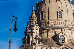 De oude stad van Dresden royalty-vrije stock foto