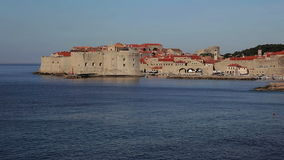De Oude Stad van Dubrovnik stock video