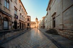 De Oude Stad van Dubrovnik Stock Afbeeldingen