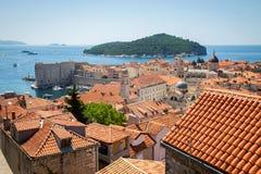 De oude stad van Dubrovnik Royalty-vrije Stock Fotografie