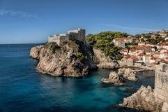 De oude stad van Dubrovnik Royalty-vrije Stock Afbeeldingen