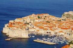 De oude stad van Dubrovnik, details, Kathedraal Royalty-vrije Stock Foto's