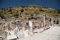 De Oude Stad van Ephesus Stock Fotografie