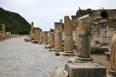 De Oude Stad van Ephesus Stock Afbeeldingen