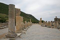 De Oude Stad van Ephesus Stock Foto's