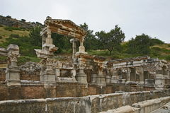 De Oude Stad van Ephesus Stock Afbeelding