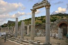 De Oude Stad van Ephesus Stock Foto