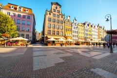 De Oude stad van Gdansk royalty-vrije stock fotografie