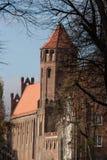 De Oude Stad van Gdansk in Polen Stock Afbeeldingen
