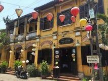 De oude stad van Hoi An in me royalty-vrije stock foto