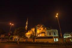 De Oude Stad van Istanboel met de Oude Stad van Istanboel met Bosphorus Stock Foto
