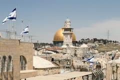 De oude stad van Jeruzalem Royalty-vrije Stock Afbeeldingen