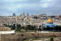De oude stad van Jeruzalem Stock Fotografie