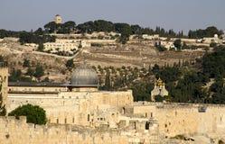 De oude stad van Jeruzalem - al aqsa m royalty-vrije stock afbeeldingen