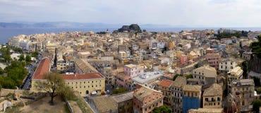 De Oude Stad van Korfu Royalty-vrije Stock Afbeeldingen