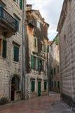 De oude stad van Kotor, vesting Royalty-vrije Stock Afbeeldingen